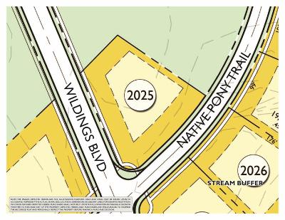 College Grove Residential Lots & Land For Sale: 5000 Native Pony Trl (Lot 2025)
