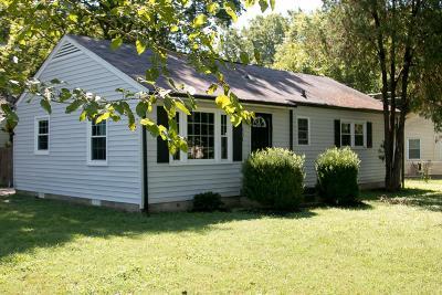 Nashville Single Family Home For Sale: 801 Village Ct