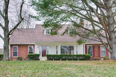 Lebanon Single Family Home For Sale: 2260 Cairo Bend Rd