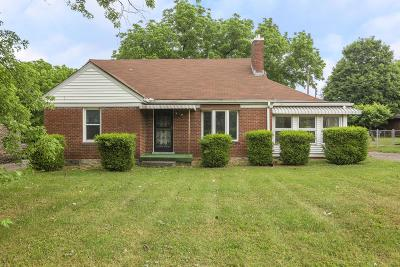 East Nashville Single Family Home Active Under Contract: 1119 Richmond Dr