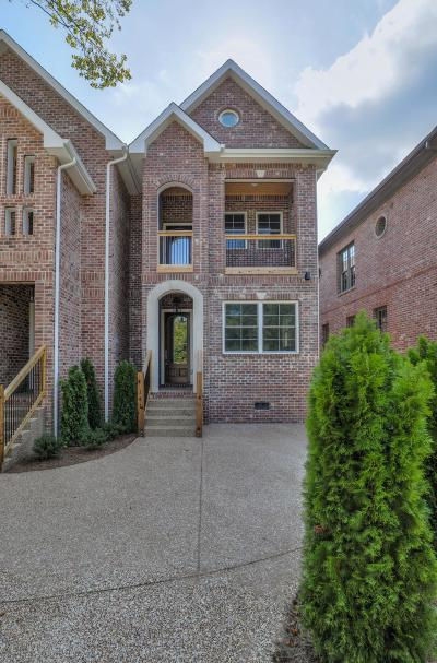 Belle Meade Single Family Home For Sale: 141 Woodmont Blvd