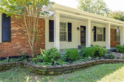 Hendersonville Single Family Home For Sale: 166 New Shackle Island Rd