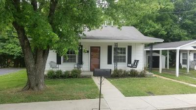 Christian County, Ky, Todd County, Ky, Montgomery County Single Family Home For Sale: 631 Ernest St