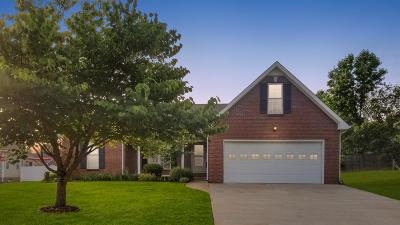 Clarksville Single Family Home Active Under Contract: 271 Shadyside Ln