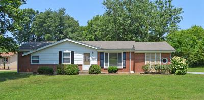 Clarksville Single Family Home Active Under Contract: 1879 Pardue Court