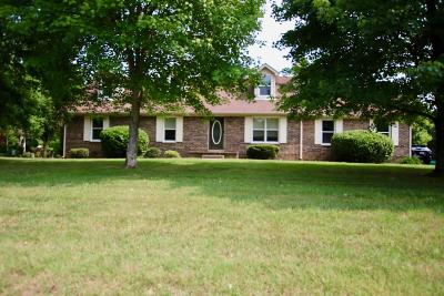 Smyrna Single Family Home For Sale: 1194 Peebles Dr