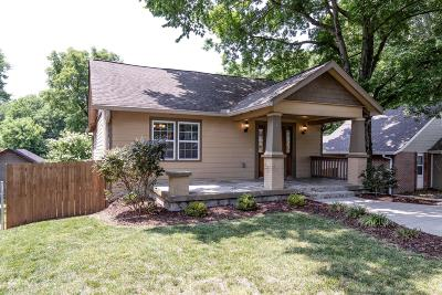 East Nashville Single Family Home Active Under Contract: 930 W Eastland Ave