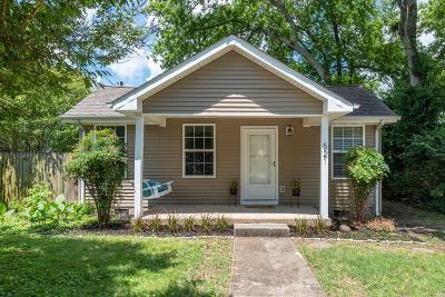 Nashville Single Family Home For Sale: 521 Snyder Ave