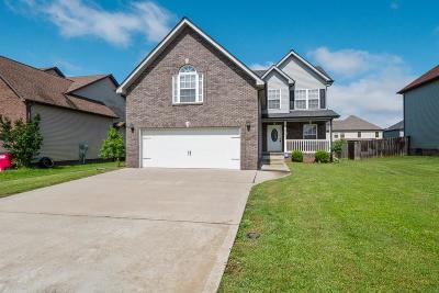 Clarksville Single Family Home For Sale: 3726 Tradewinds Ter