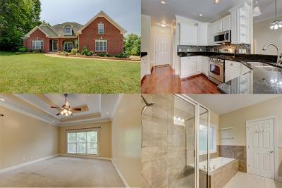 Clarksville Single Family Home Active Under Contract: 808 Brooke Valley Trce