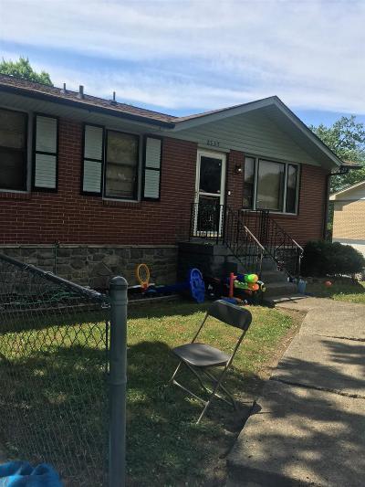 East Nashville Single Family Home For Sale: 2535 Allenwood Dr