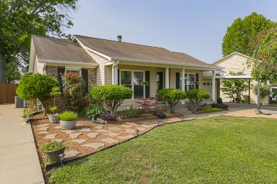 Old Hickory Single Family Home For Sale: 305 Brandiwood Ct