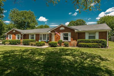 Nashville Single Family Home For Sale: 2518 Meadowood Dr