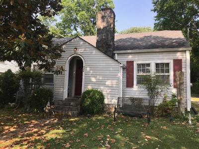 Lebanon Single Family Home For Sale: 122 Castle Heights Ave