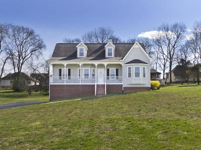 Spring Hill Single Family Home Active Under Contract: 1182 Weaver Farm Ln