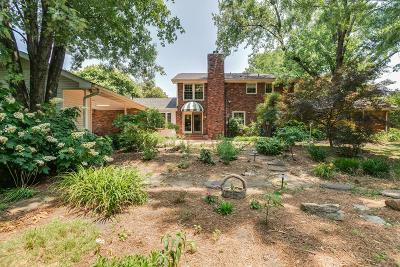 Brentwood Single Family Home For Sale: 713 Shenandoah Dr