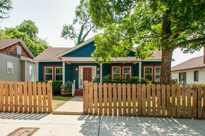Nashville Single Family Home Active Under Contract: 1215 Joseph Ave