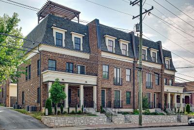 Nashville Single Family Home For Sale: 1313 5th Ave N Ste 8