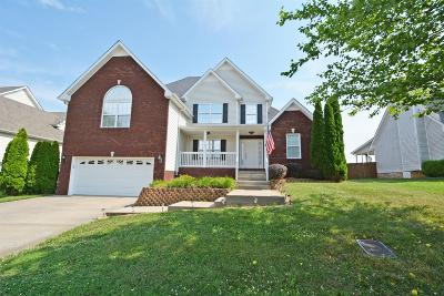 Clarksville Single Family Home For Sale: 1157 Castlewood Dr