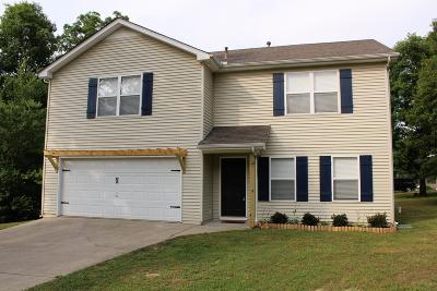 Dickson Single Family Home For Sale: 1000 Hickory Run Dr