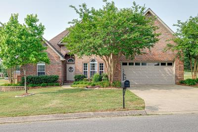 Mount Juliet Single Family Home Active Under Contract: 1021 Oakhall Dr