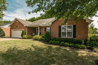 Gallatin Single Family Home Active Under Contract: 610 Lilycrest Dr