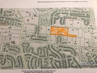 Nashville Residential Lots & Land For Sale: 5961 Mt Pisgah Rd