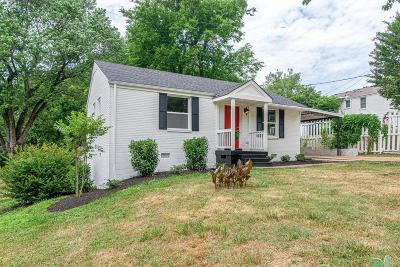 Nashville Single Family Home Active Under Contract: 119 Dodge Dr