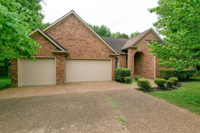 Thompsons Station Single Family Home Active Under Contract: 2753 Wiltshire Ct