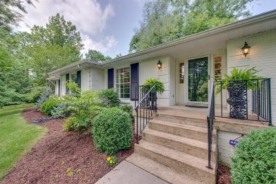 Single Family Home For Sale: 5211 Granny White Pike