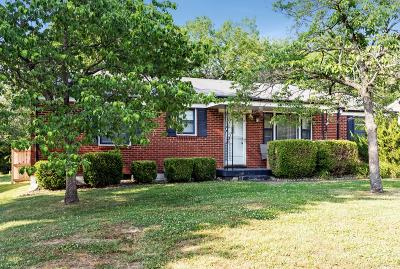Nashville Single Family Home Active Under Contract: 2722 Wellman Dr