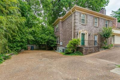 Belle Meade Condo/Townhouse For Sale: 153D Woodmont Blvd