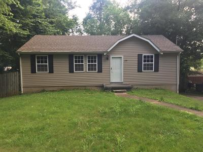 Clarksville Single Family Home For Sale: 258 Tobacco Rd