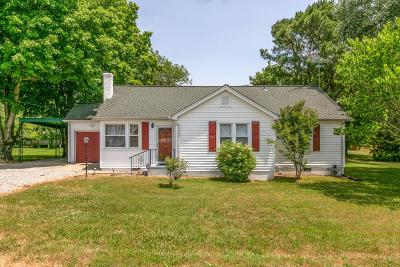 College Grove Single Family Home For Sale: 8746 Horton Hwy