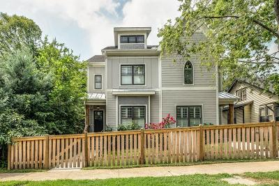 Single Family Home For Sale: 1011A Montrose Ave