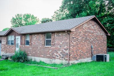 Clarksville Single Family Home Active Under Contract: 332 Woodale Dr