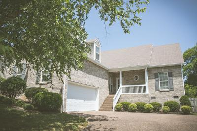 Thompsons Station Single Family Home Active Under Contract: 2215 Ipswitch Drive