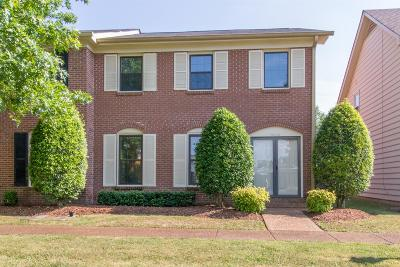 Nashville Condo/Townhouse For Sale: 1020 General George Patton Rd