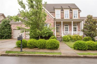 Thompsons Station Single Family Home Active Under Contract: 1008 Becket Cir