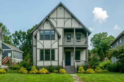 East Nashville Single Family Home Active Under Contract: 1607 Electric Ave