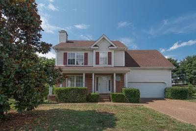 Spring Hill  Single Family Home For Sale: 1818 Oreilly Cir