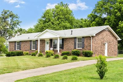 Clarksville Single Family Home Active Under Contract: 3444 Melrose Drive