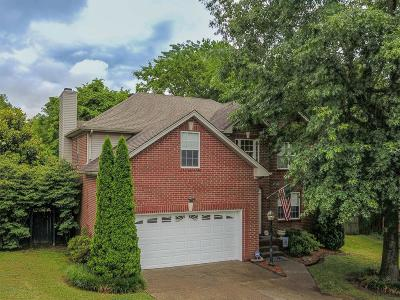 Hendersonville Single Family Home Active Under Contract: 119 Walton Trace N