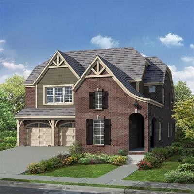 Franklin Single Family Home For Sale: 3006 Singing Creek Dr. (Lot 94)