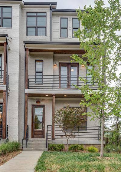 Nashville Single Family Home For Sale: 1008A Villa Pl