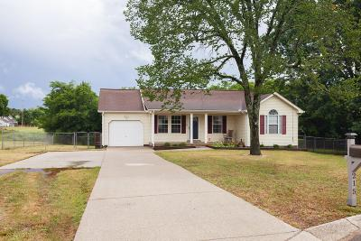 Single Family Home Pending: 215 Bluewater Ct