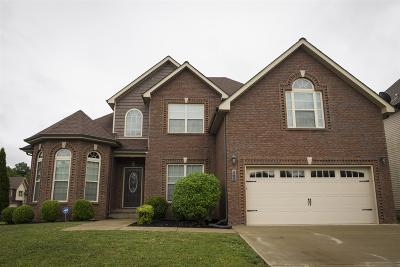 Clarksville Single Family Home For Sale: 3791 Windhaven Dr