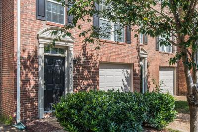 Franklin Condo/Townhouse Active Under Contract: 663 Huffine Manor Circle