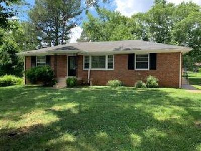 Clarksville Single Family Home For Sale: 414 E Coy Cir