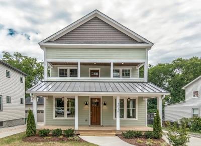 Nashville Single Family Home For Sale: 4016 Westlawn Dr